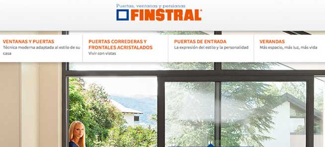 distribuidor finstral en Madrid