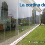 La cortina de cristal, cerramiento sin perfiles