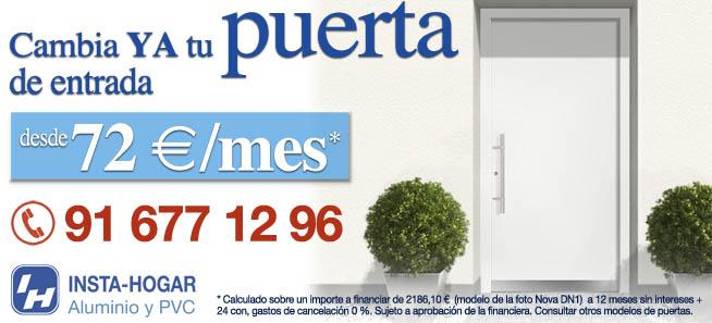 Puertas de entrada hogar, facilidades de pago
