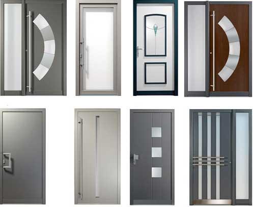 Puertas de entrada de aluminio ventanas de aluminio y for Puerta entrada aluminio