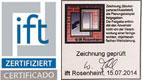 ventanas de aluminio certificación ift