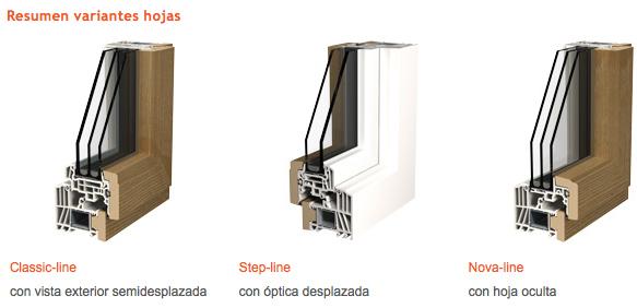 Ventanas de madera y pvc o madera y aluminio ventanas de for Pvc o aluminio precios