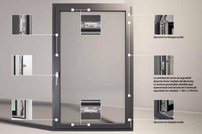 ventanas de aluminio de seguridad