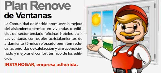 plan renove ventanas madrid 2017
