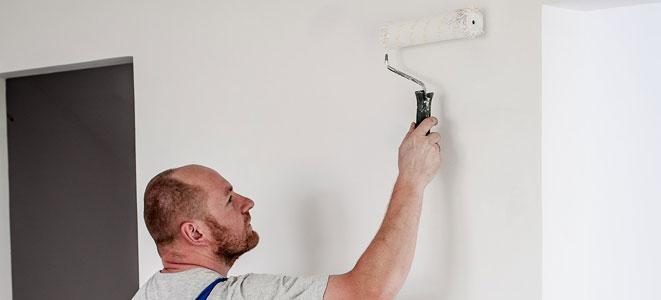 antes de pintar aisle las paredes