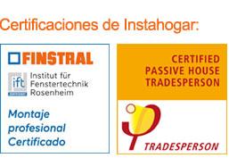 Certificaciones de Instahogar