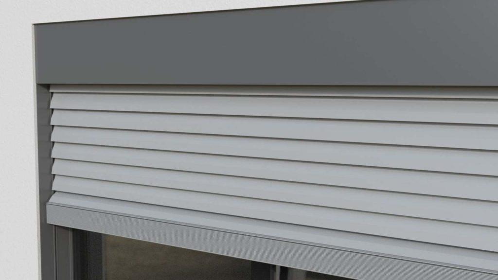 Protector solar Raffstore aluminio